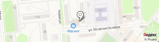 Квартал на карте Новодвинска