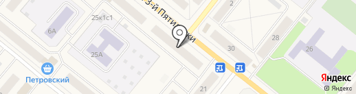 6 соток на карте Новодвинска