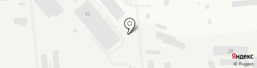 Три Богатыря на карте Новодвинска