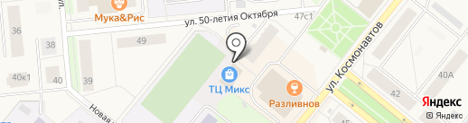 Аква-САН на карте Новодвинска