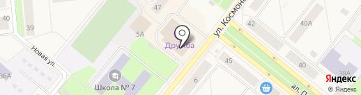 Магазин цветов на карте Новодвинска
