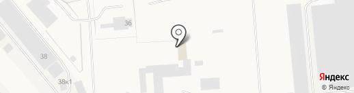 Сауна на карте Новодвинска