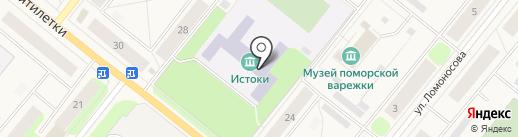 Магистраль-Авто на карте Новодвинска