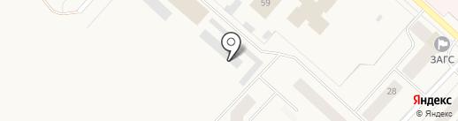 Автомастерская на карте Новодвинска