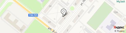 Фотоателье на карте Новодвинска