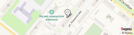 АЛВИЗ на карте Новодвинска