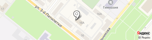 Весточка на карте Новодвинска