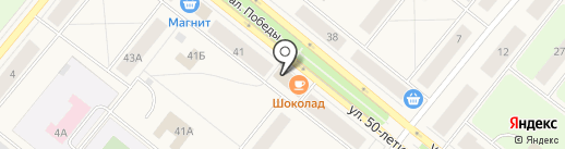 КЕША на карте Новодвинска