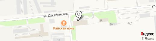 Альтернатива на карте Новодвинска