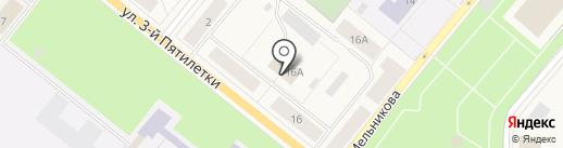 Скобяная лавка на карте Новодвинска
