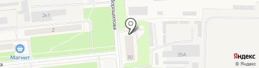 Стоматологический кабинет на карте Новодвинска