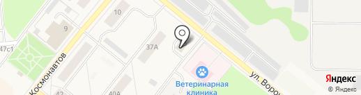 Мастерская по ремонту обуви и изготовлению ключей на карте Новодвинска