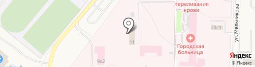 Центр гигиены и эпидемиологии в Архангельской области на карте Новодвинска
