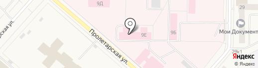 Женская консультация на карте Новодвинска
