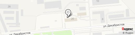 СБ-ВИДЕО на карте Новодвинска