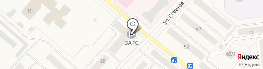 ЗАГС г. Новодвинска на карте Новодвинска
