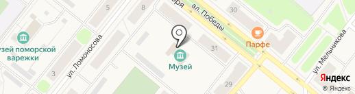 Сила духа на карте Новодвинска