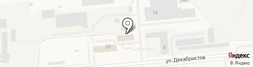 Техносервис на карте Новодвинска
