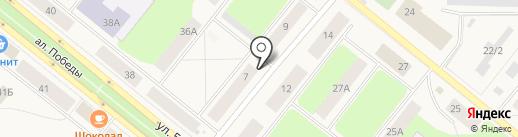 Тяпа dog на карте Новодвинска