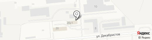 Беломор-Авто на карте Новодвинска