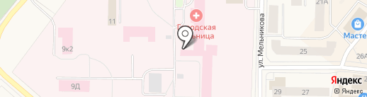Росгосстрах-Архангельск-Медицина на карте Новодвинска