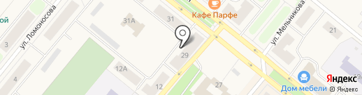Каприз на карте Новодвинска