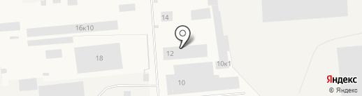 Северполимер на карте Новодвинска