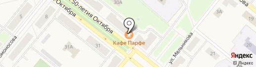 BRAVO на карте Новодвинска
