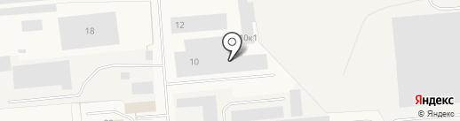 Производственная компания на карте Новодвинска