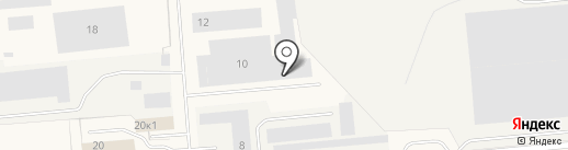 Автоблеск на карте Новодвинска
