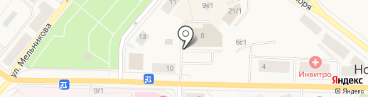 Магнат Сервис на карте Новодвинска