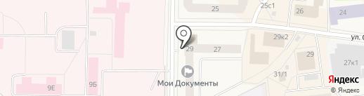 Магазин товаров для дома и дачи на карте Новодвинска