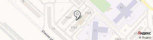Таблетка на карте Новодвинска