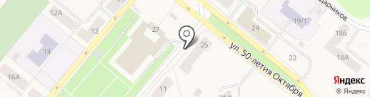 Банкомат, Московский Индустриальный Банк на карте Новодвинска