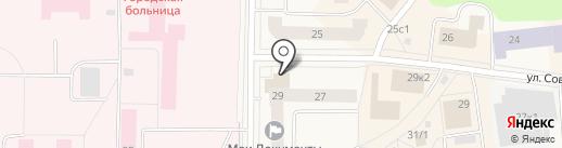 Мои документы на карте Новодвинска