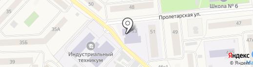 Хозмаркет на карте Новодвинска