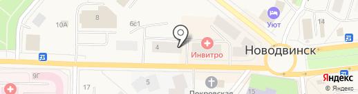 Инженерная сантехника на карте Новодвинска