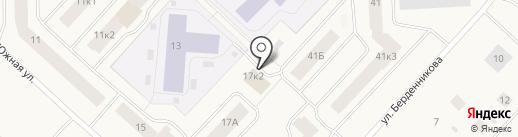 Петровский на карте Новодвинска