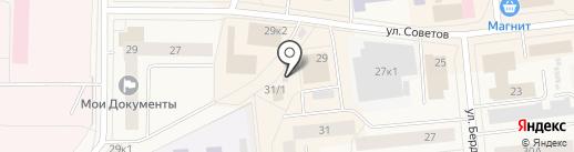 Амбар на карте Новодвинска