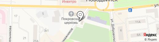 Мясные продукты на карте Новодвинска