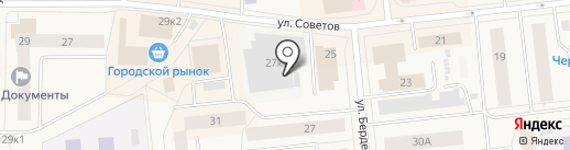 Жасмин на карте Новодвинска