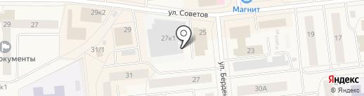 Магазин строительного крепежа на карте Новодвинска