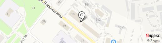 Ростелеком, ПАО на карте Новодвинска