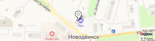 СОГАЗ-Мед на карте Новодвинска