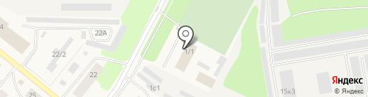 Дом детского творчества на карте Новодвинска
