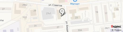 Банкомат, АКБ Авангард, ПАО на карте Новодвинска