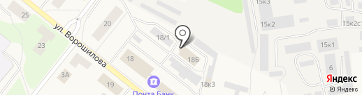 Охрана Росгвардии, ФГУП на карте Новодвинска