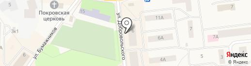 Айриш на карте Новодвинска