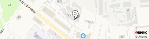 Momento Pizza на карте Новодвинска