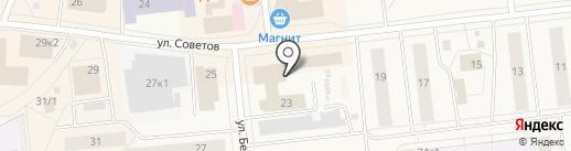 Ольга на карте Новодвинска